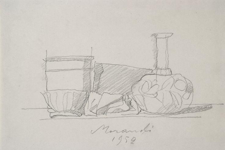 Giorgio Morandi - Natura morta - 1952 - Museo Morandi, Bologna