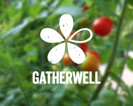 Gather Well Logo Design