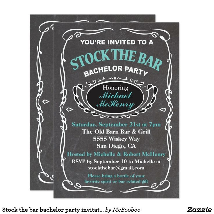 The Best Bachelor Party Invitations Images On Pinterest - Bachelor party invitation template