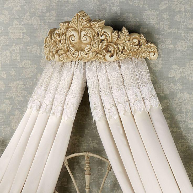 Trousseau Lace Canopy Curtains