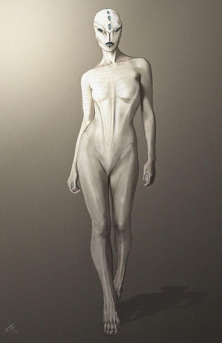 Female grey alien — photo 9
