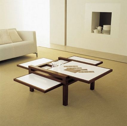 Mesas auxiliares para salas pequeñas