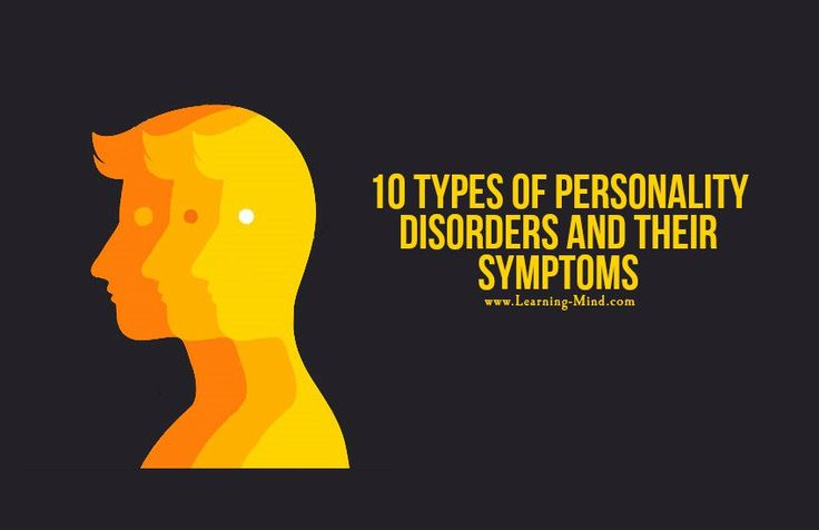 10 Types of Personality Disorders and Their Symptoms #learningmind