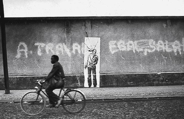 Ernest Pignon-Ernest, Grenoble, France 1976
