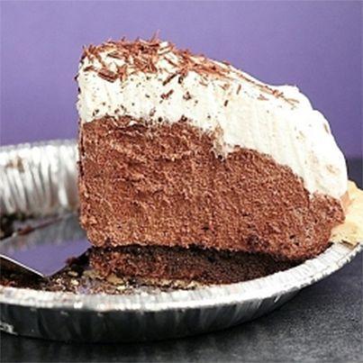 Mile-High Chocolate Pie | My Treats | Pinterest