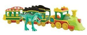 Dinosaur Train with Lights and Sounds-- Anything with trains, cars, boats, airplanes, and dinosaurs are a win for Isaack