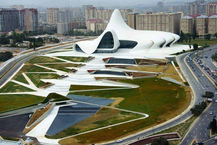 Heydar Aliyev, Cultural Center. Zaha Hadid.
