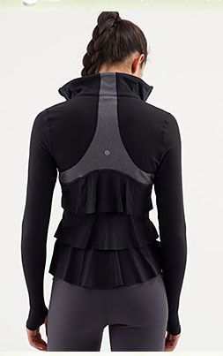 I'm not a runner but I love this jacket.