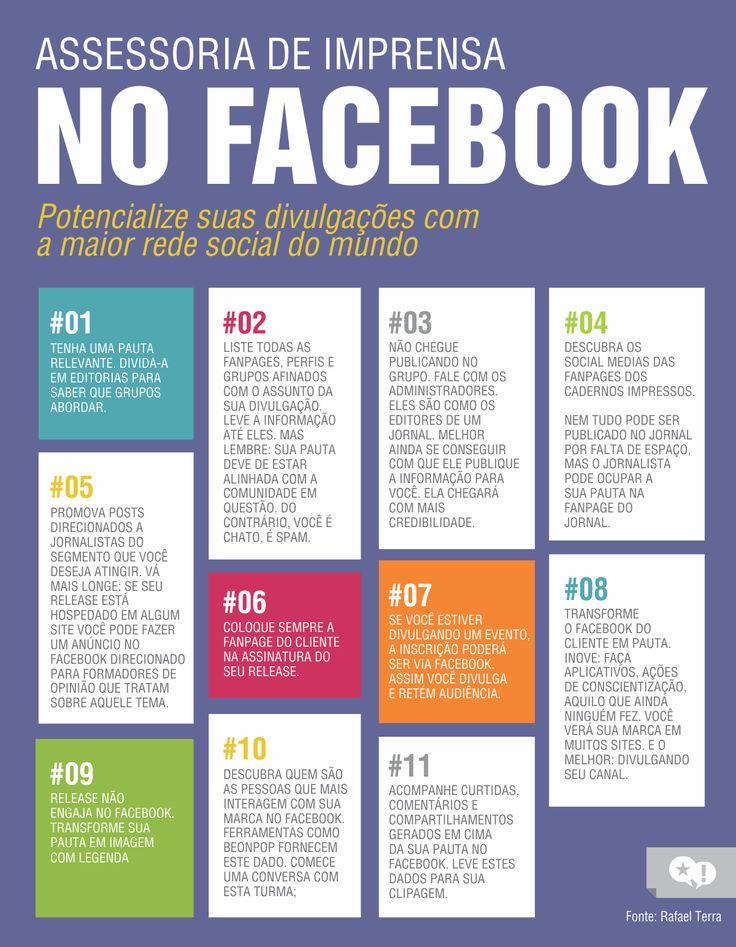 Dicas para você melhorar suas divulgações em assessoria de imprensa com o Facebook