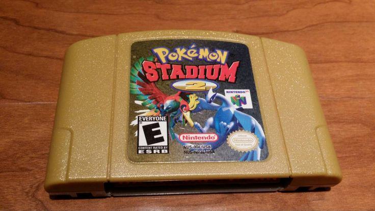 Pokemon stadium 2 Nintendo 64 video game, n64 Pokémon stadium 2, Pokémon stadium, pokemon, Nintendo,  n64 video games - pinned by pin4etsy.com