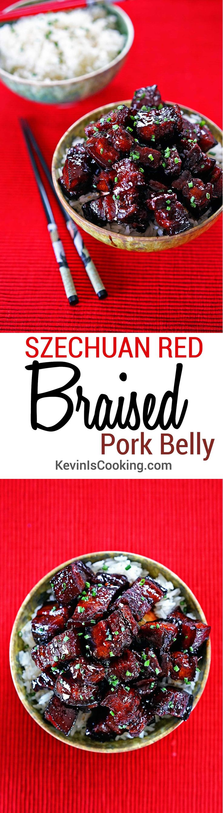 Szechuan Red Braised Pork Belly. www.keviniscooking.com                                                                                                                                                                                 More
