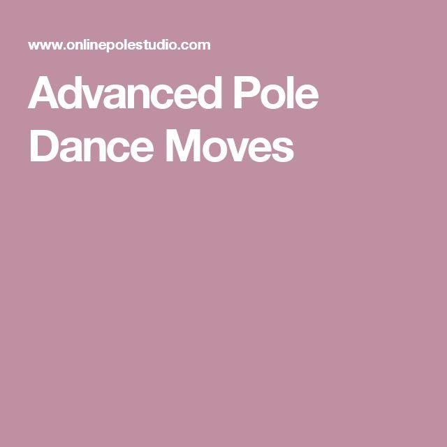 Advanced Pole Dance Moves