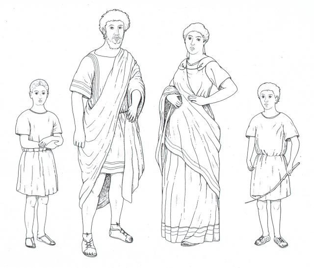 4b995d8c8 Aegeon, Emilia and the twin Antipholuses... except they were are separated  when the boys were babies. | TCOE: Other Characters | Rome history, Ancient  roman ...