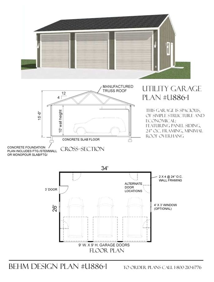Turn A Garage Into A Small House Garage Design Garage Plans 3 Car Garage Plans