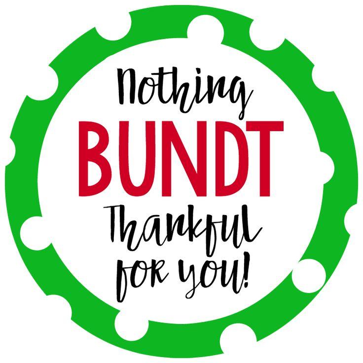 Nothing bundt thankful for you gift idea employee