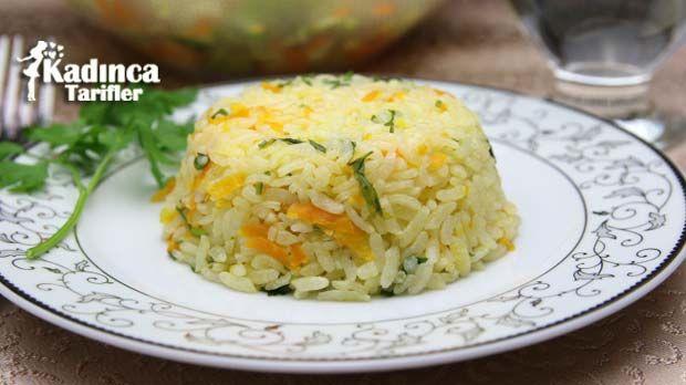 Havuçlu Pirinç Pilavı Tarifi nasıl yapılır? Havuçlu Pirinç Pilavı Tarifi'nin malzemeleri, resimli anlatımı ve yapılışı için tıklayın. Yazar: Sümeyra Temel