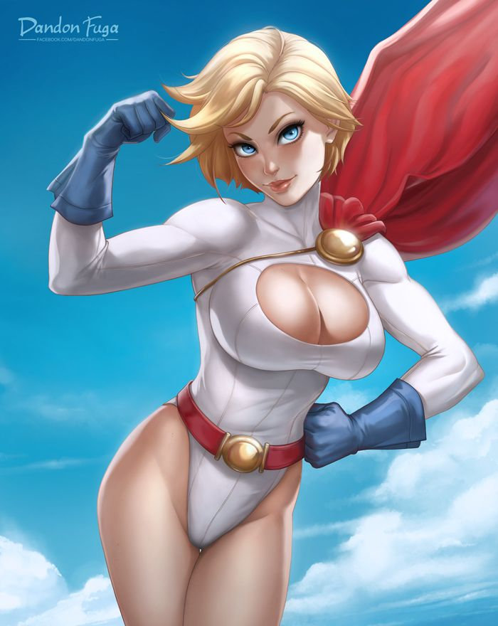 Power Girl by dandonfuga.deviantart.com on @DeviantArt