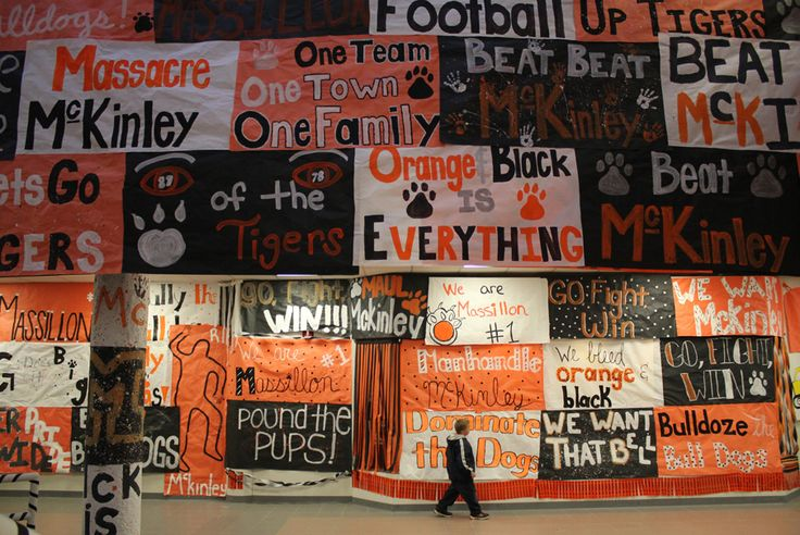 Massillon Tigers Football Roster | Beat McKinley Spirit Signs