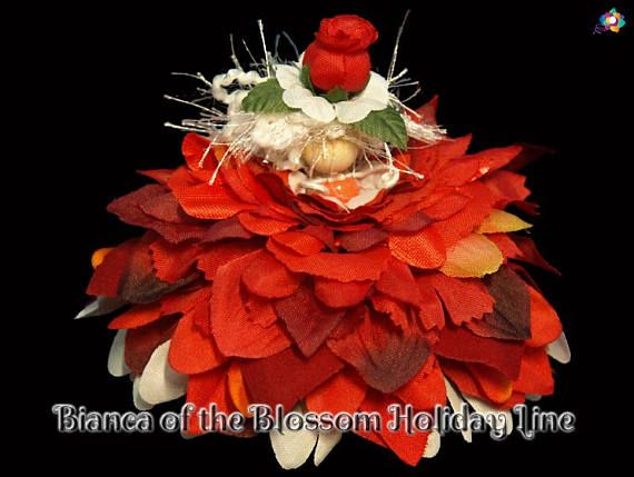 Bianca of the Blossom Holiday Line Fairy Faerie OOAK Doll