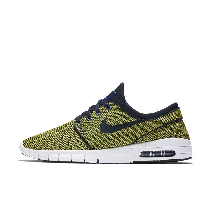 Nike SB Stefan Janoski Max Men's Skateboarding Shoe Size 10.5 (Yellow) -  Clearance Sale