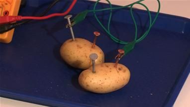 How To Make A Potato Battery (Cool Experiments)