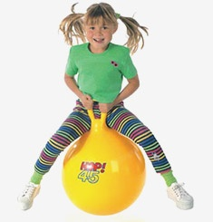 I want one. I wouldn't even be embarrassed to hop around town on it. Of course, that may be why I shouldn't have one...