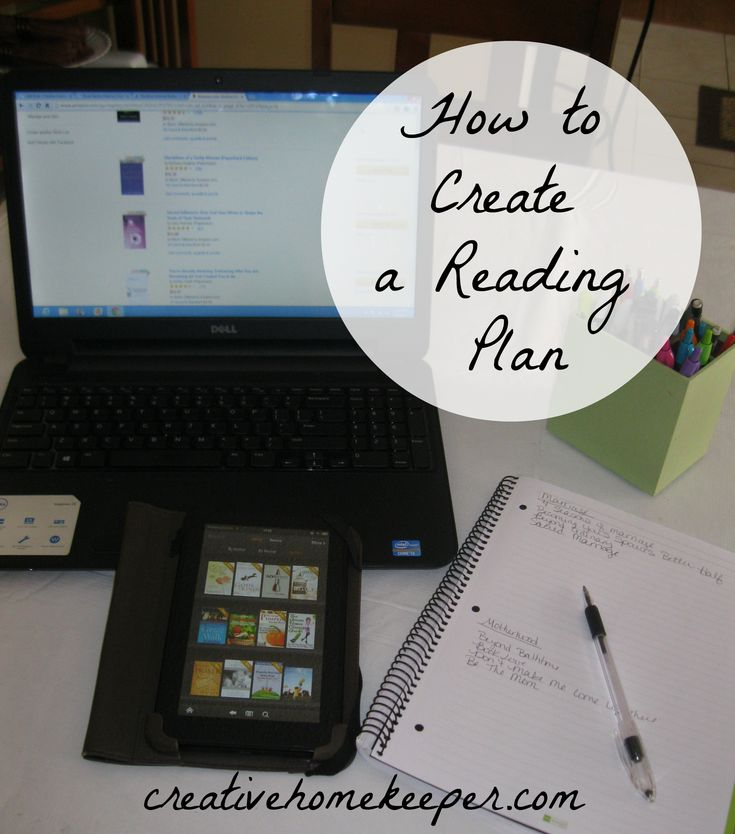 create a reading plan