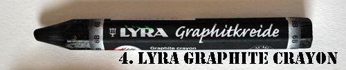 Lyra graphite crayon