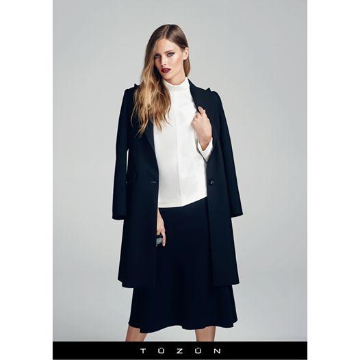 Hafta sonuna siyah ve beyazın muhteşem uyumuyla adım atın... #Tuzun #TuzunGiyim #trend #moda #stil #style #kombin #fashion