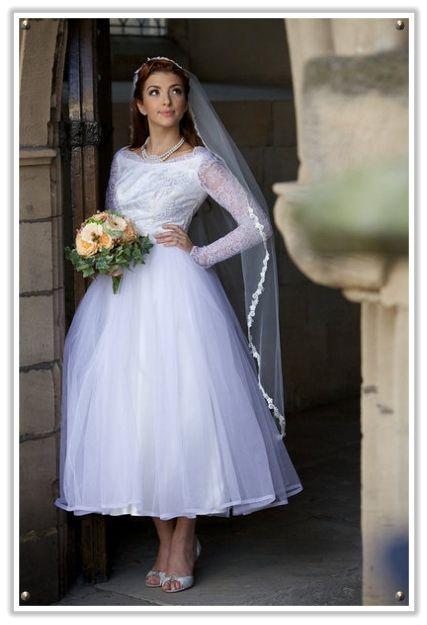 1950s Ballerina Wedding Dresses