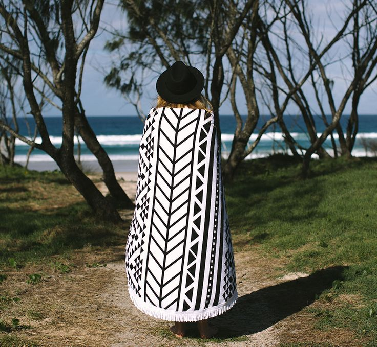 Towel - The Original 'Roundie' - The Beach People