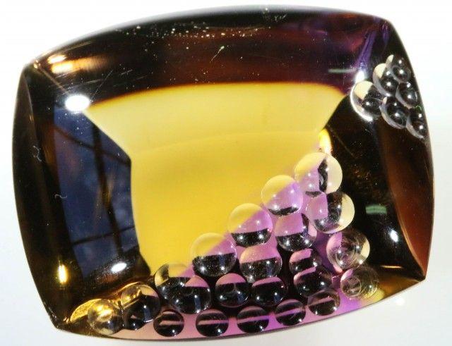 44.85 CTS  VVS LARGE AMETRINE CARVING [STS328] fancy cut gemstones,gemstones, fashionable gemstones