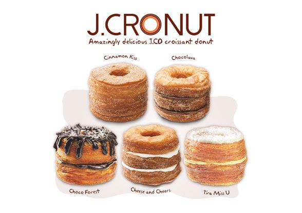 J.CRONUT Croissant Donut - J.CO Indonesia