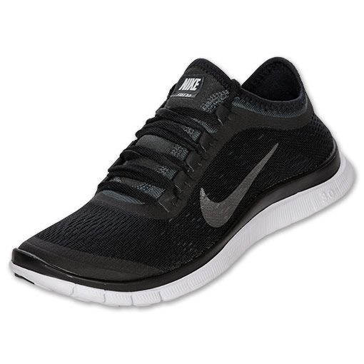 Best Nike Free 3.0 V3 Running Shoes Men's Light Grey/Black/White