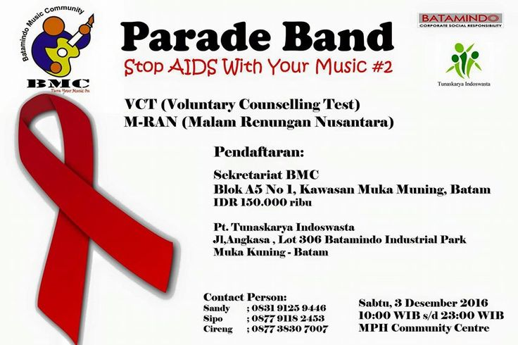 "PARADE BAND ""STOP AIDS WITH YOUR MUSIC"