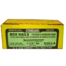 Maze Nails 392-Count 14-Gauge 1-1/2-in Hot-Dipped Galvanized Hardboard Siding Nails