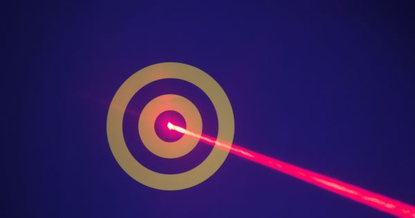 US defense contractors are busy developing laser weapons for the military to use...