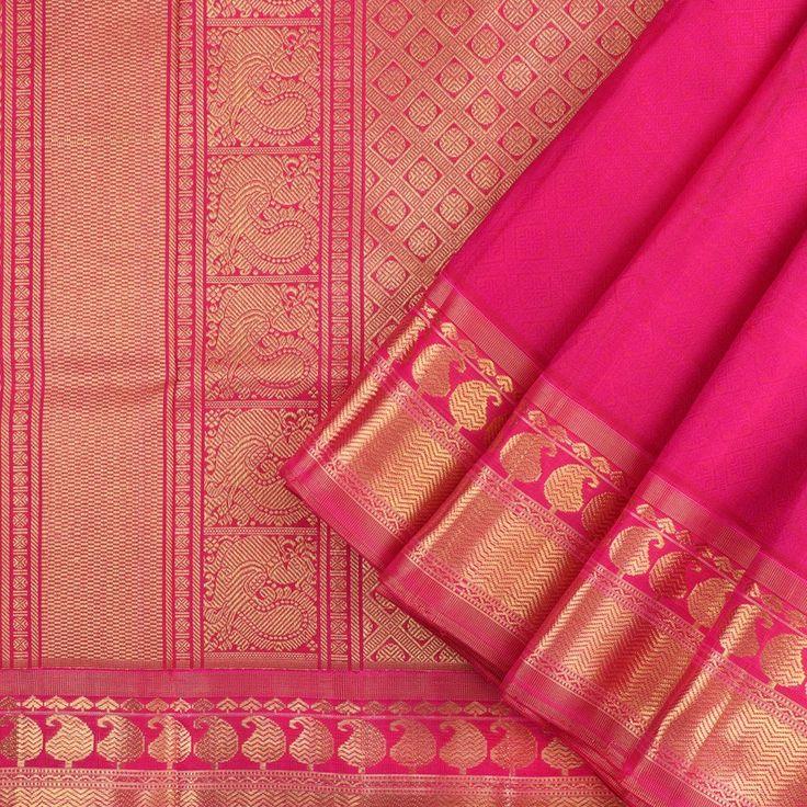 Kanakavalli Kanjivaram Silk Sari 031-01-14838 - Cover Shot