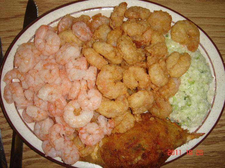 Delicious seafood in Calabash, NC