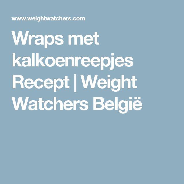 Wraps met kalkoenreepjes Recept   Weight Watchers België