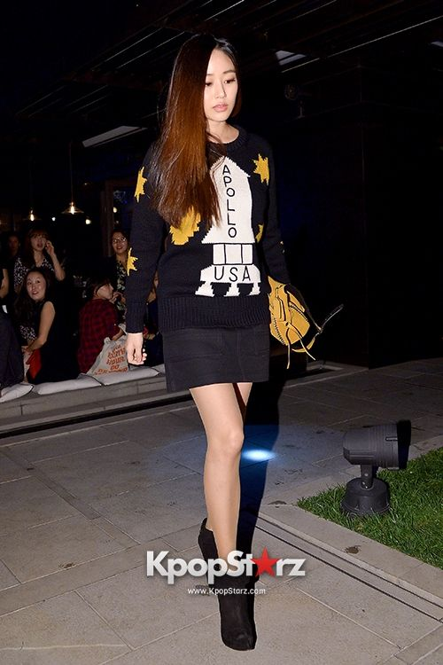 Kim Sung Ryung, Kim Ah Joong and Kim Hyo Jin at Coach 'Stuart Vevers' Collection Launching Event Sep 19, 2014