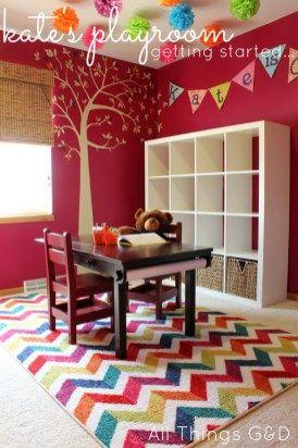 Colorful Contemporary Playroom Ideas 99 Inspiration Decor (19)