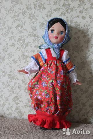 Кукла СССР Загорская фабрика