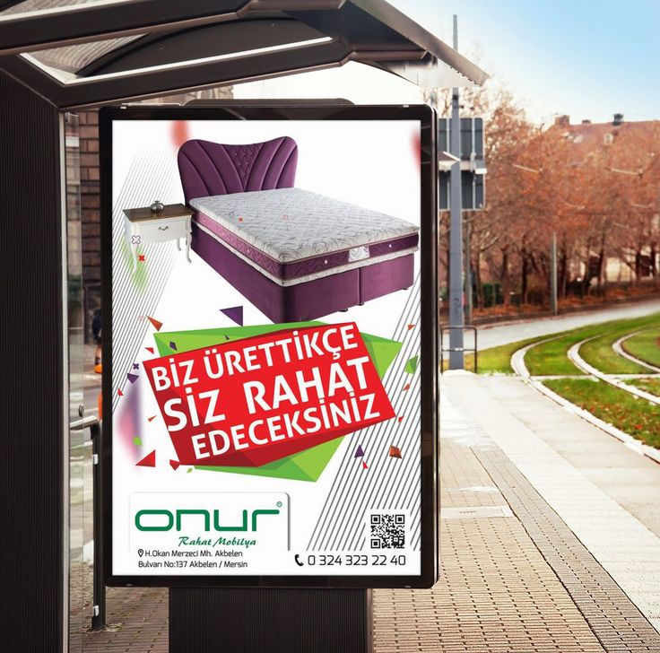 Onur Mobilya Açıkhava / Billboard Tasarımı