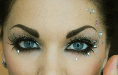 Cute jewels make up <3