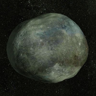 ♅ Moon of Uranus: Bianca. 51km diameter. Discovered by Voyager 2 in 1986. Named after the sister of Katherine in Shakespeare's play 'The Taming of the Shrew'. Bianca belongs to the Portia Group of satellites, which also includes Cressida, Desdemona, Juliet, Portia, Rosalind, Cupid, Belinda and Perdita. Its surface is grey in color. Virtually nothing is known about it, and no pictures exist showing what it actually looks like. Third closest moon to Uranus. CGI render by mr-nerb.