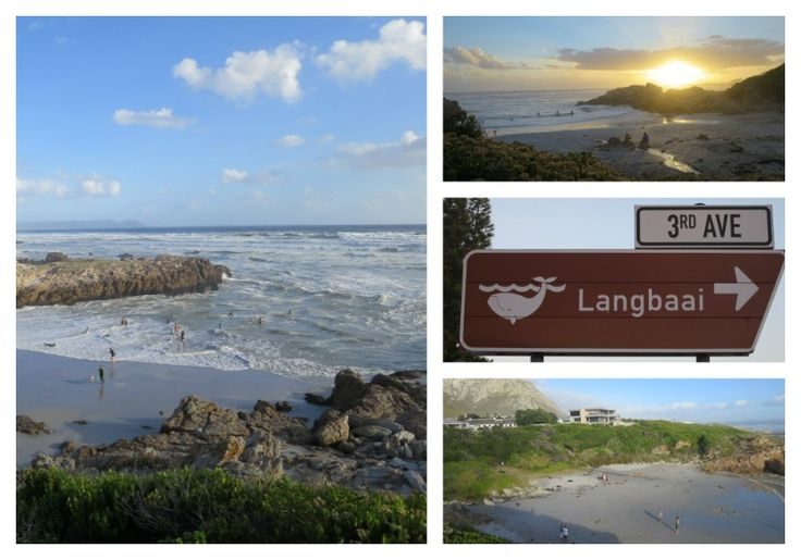 Langbaai Beach - Voelklip Hermanus You can reach the beach by turning at the corner of 3rd Avenue and 10th Streets in Voelklip