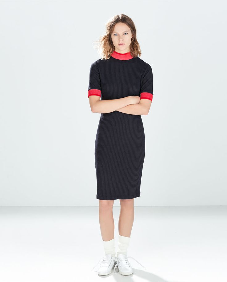 ZARA - WOMAN - RIBBED DRESS