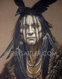 Resultado de imagen para native american face paint meanings