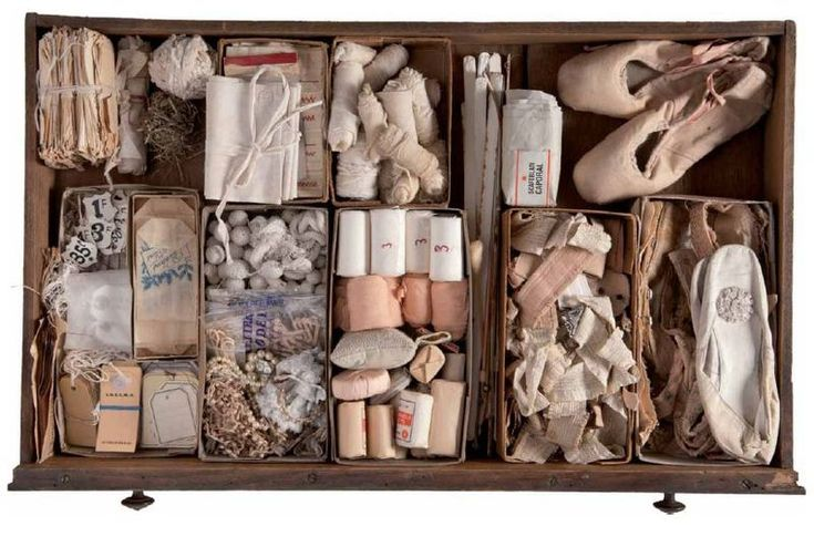Is it a craft supply drawer, an art piece, or just evidence of prettiness hoarding?
